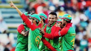 Live Cricket Score New Zealand (NZ) vs Bangladesh (BAN), ICC Cricket World Cup 2015 Pool A Match 37 at Hamilton NZ 290/7 after 48.5 Overs: New Zealand win by 3 wickets