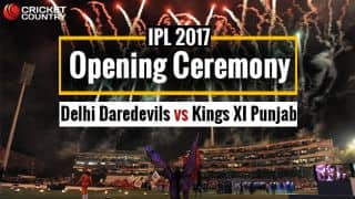 DD vs KXIP, IPL 2017, Opening Ceremony at Feroz Shah Kotla, Live Updates