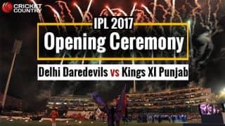 DD vs KXIP, IPL 2017, Opening Ceremony at Feroz Shah Kotla, Live Updates