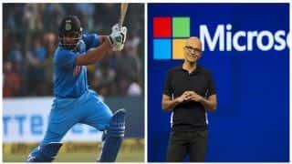 Rohit Sharma's playing style reminds Satya Nadella of VVS Laxman