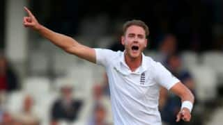 Stuart Broad signs a 3-year contract with Nottinghamshire
