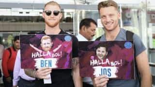 राजस्थान के स्टार खिलाड़ी जोस बटलर और बेन स्टोक्स पहुंचे भारत