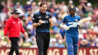 Sri Lanka bowled out for 117 vs New Zealand in 2nd ODI at Christchurch
