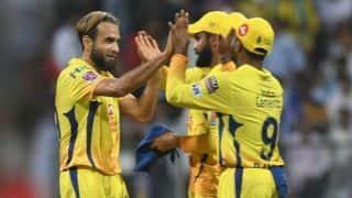 टॉस जीतकर चेन्नई ने चुनी गेंदबाजी, दोनों टीमों में कोई बदलाव नहीं