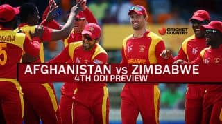 Afghanistan vs Zimbabwe 2015-16, 4th ODI at Sharjah, Preview: Visitors aim to level series
