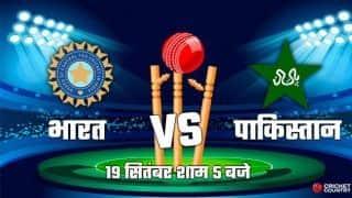 एशिया कप में भारत-पाकिस्तान आज होंगे आमने-सामने