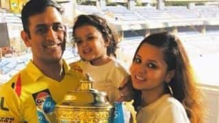 Ziva wanted to run freely at Wankhede, discloses MS Dhoni after CSK's third IPL win