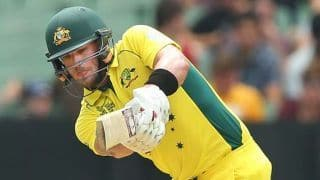 Aaron Finch cleared to play perth ODI against South Africa after injury scare