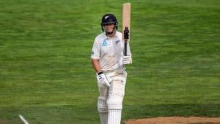 Ross Taylor, Henry Nicholls push New Zealand to 372/3 at tea