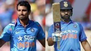 Rohit Sharma, Mohammed Shami want to spend time at National Cricket Academy before returning to cricket