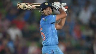 Rohit Sharma, Shikhar Dhawan stifled by England bowlers for India in 2nd ODI