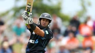 India vs New Zealand 2014, 1st ODI at Napier: New Zealand 50/2 in 14 overs