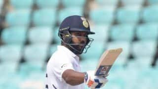 1st Test: Rohit Sharma century puts India on top at Vizag