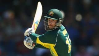 Matthew Wade scores unbeaten 71 as Australia set England a target of 306 in 1st ODI at Southampton