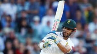 JP Duminy's brisk knock negates Suranga Lakmal's heroic show as South Africa take tea at 174 for 2
