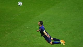 Netherlands beat Spain 5-1 in FIFA World Cup 2014