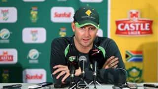 Clarke out of 1st ODI against Zimbabwe