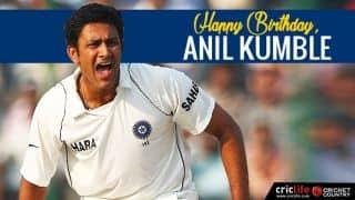 Happy Birthday, Anil Kumble! The legendary wizard turns 47