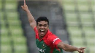 Cheteshwar Pujara succumbs as India reeling at 55 for four against Bangaldesh in 2nd ODI at Dhaka