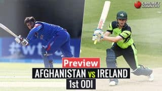 AFG vs IRE, 1st ODI preview: Porterfield's men look for answers against in-form opponents