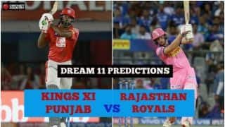 Dream11 Prediction: KXIP vs RR Team Best Players to Pick for Today's IPL T20 Match between Kings and Royals at Mohali 8PM
