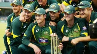 Australia consolidate number one position in ICC ODI rankings
