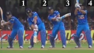 MS Dhoni and the Helicopter Shot — a frame-by-frame analysis