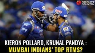 Kieron Pollard, Krunal Pandya: Mumbai Indians' top RTMs in IPL 2018 player auctions