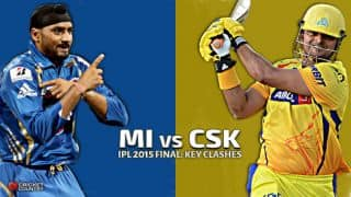 Mumbai Indians vs Chennai Super Kings, IPL 2015 Final: Key Clashes
