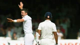 James Anderson becomes leading wicket-taker at Lord's during 2nd Test against India