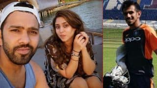 Yuzvendra Chahal commented on Rohit Sharma's picture, got hilarious reply from Ritika sajdeh