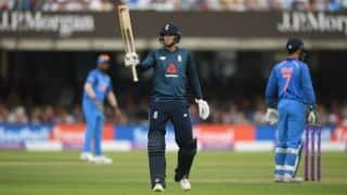 Joe Root's century takes England to 322 in 50 overs against India in 2nd ODI