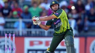 Shahid Afridi vows to quit cricket if he becomes a 'burden' to Pakistan