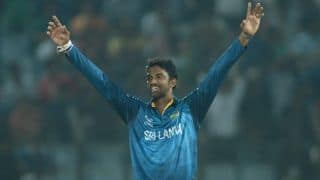 Sri Lanka off-spinner Sachithra Senanayake reported for suspect bowling action