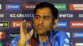 MS Dhoni does not need to prove a point to the media by taking jibes