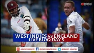 Live Cricket Score WI vs Eng 2015, 2nd Test at Grenada Day 5: England win by 9 wickets
