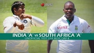 SA A 76 | Live Cricket Score India A vs South Africa A, 2nd unofficial Test, Day 4: IND win by an innings and 81 runs