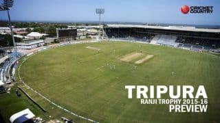 Ranji Trophy 2015-16: Tripura squad and team Preview