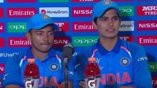 Dean Jones picks between Prithvi Shaw and Shubman Gill