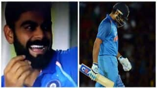 Watch: Rohit Sharma, Shikhar Dhawan's comedy of errors leaves Virat Kohli in splits