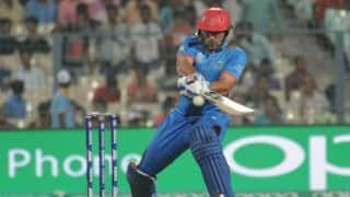 mohammad nabi unbeaten 49 helps Afghanistan to beat Ireland by 5 wickets