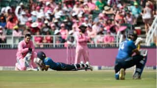 Bee intrusion stops play in South Africa-Sri Lanka 3rd ODI: Video and Twitter reactions