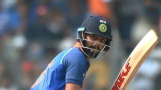 India vs New Zealand, 1st ODI at Mumbai: Virat Kohli scores his 46th fifty in 200th ODI