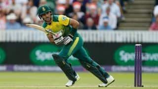 द. अफ्रीका ने तीसरा टी-20  मैच 45 रन से जीत श्रीलंका का किया क्लीनस्वीप