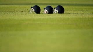 J Kousik's unbeaten 104 helps TNCA districts XI beat Saurashtra by 1 wicket in Buchi Babu cricket tournament