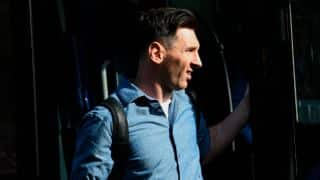 Barcelona court begins trial of Lionel Messi and his father in tax fraud case