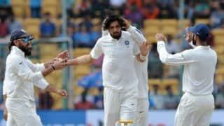 Ishant Sharma goes past Javagal Srinath