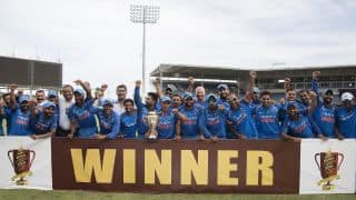 PHOTOS: India vs West Indies 2017, 5th ODI at Jamaica