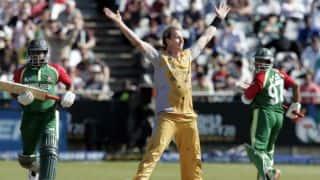 September 16, 2007: Brett Lee's maiden T20I hat-trick sinks Bangladesh