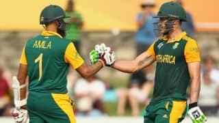 हाशिम आमला का दमदार शतक, द.अफ्रीका ने श्रीलंका को दिया 300 रनों का लक्ष्य